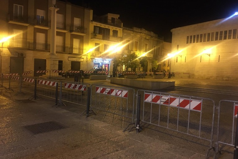 piazza Duomo transnennata