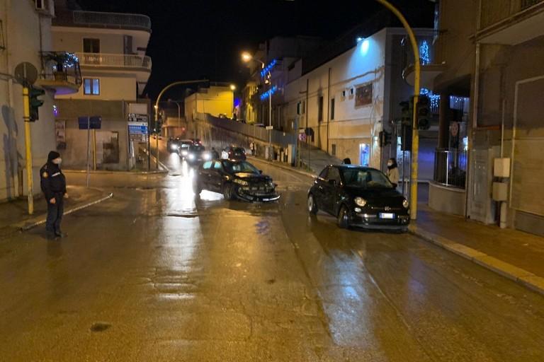 incidente tra via Santa Maria dei Miracoli con viale Dalmazia e viale Puglia