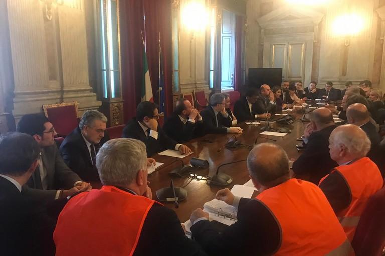 I gilet arancioni incontrano a Roma il Ministro Centinaio