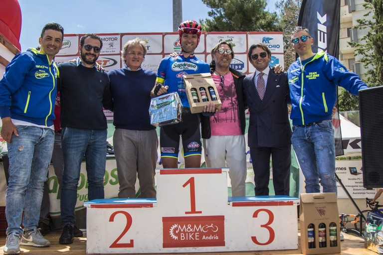Donato Cannone della M&M Bike Saporosa