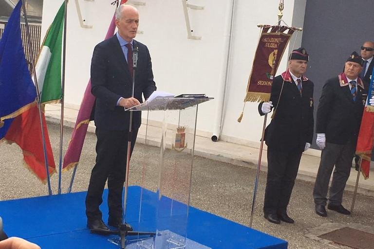 Il Capo della Polizia di Stato Franco Gabrielli