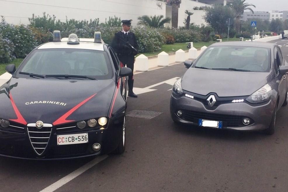 Gazzella nucleo radiomobile carabinieri
