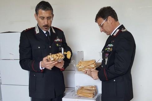 sequestro carabinieri forestali