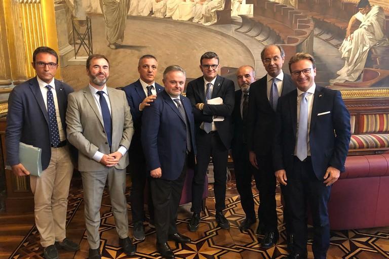 incontro con il ministro per le Politiche agricole Gian Marco Centinaio