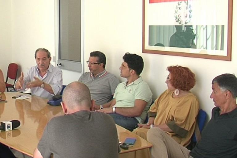 Conferenza stampa centrosinistra
