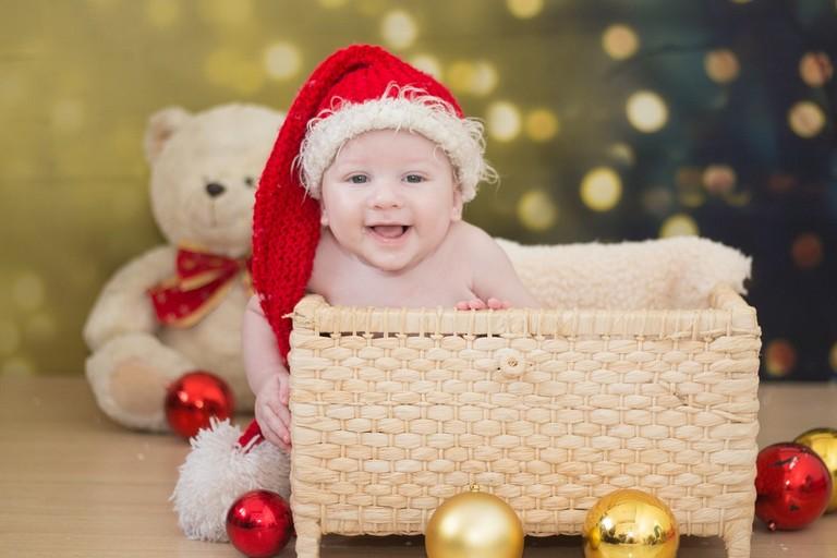 Bambino a Natale