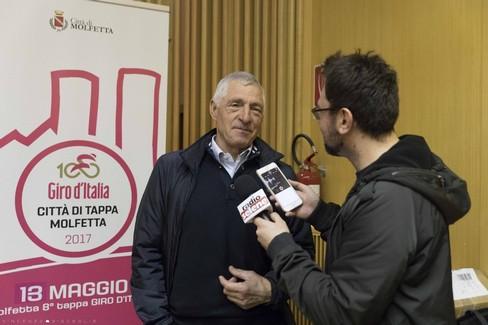 Conferenza Molfetta Giro d'Italia
