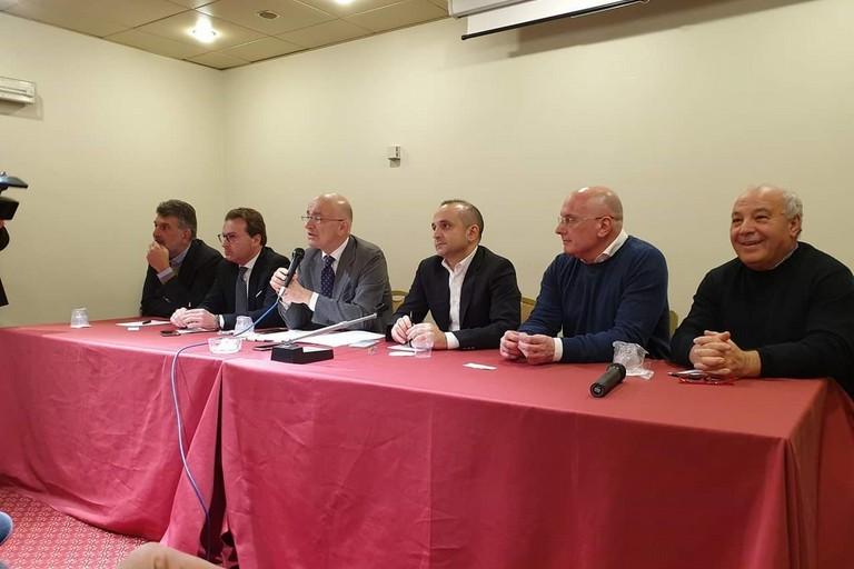 conferenza stampa di Forza Italia