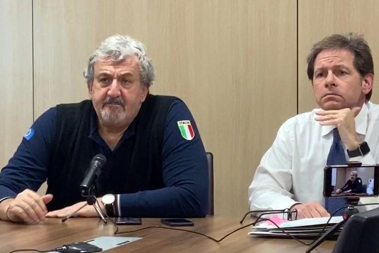 riunione in Regione su questione coronavirus