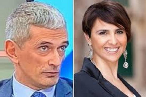 Gabriella Baldini e  Ruggiero Crudele