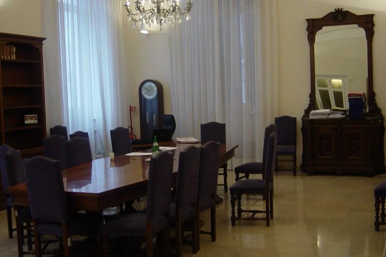 sala giunta comunale