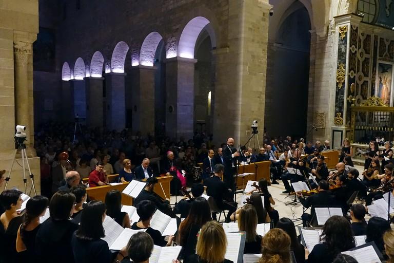 Eccezionale concerto per la festa onomastica del Vescovo diocesano mons. Luigi Mansi