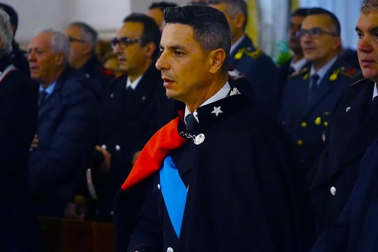 Capitano Carabinieri Domenico Montalto. <span>Foto Riccardo Di Pietro</span>