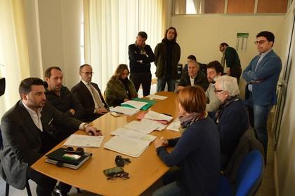 Conferenza stampa opposizioni Città di Andria