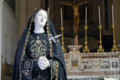 Statua Madonna dell'Addolorata San Nicola