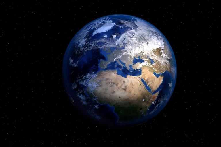 Il pianeta Terra. Foto di PIRO4D da Pixabay