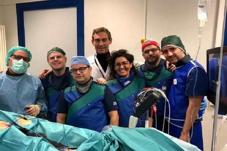 equipe della Cardiologia del Lorenzo Bonomo