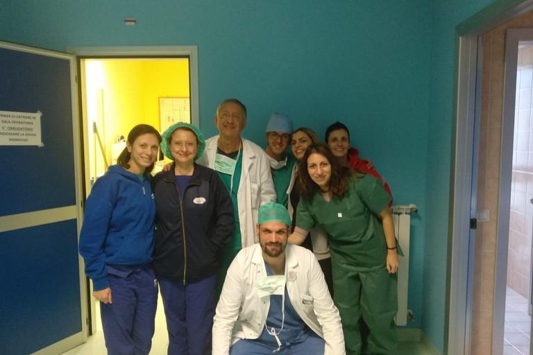 Equipe medica del Lorenzo Bonomo