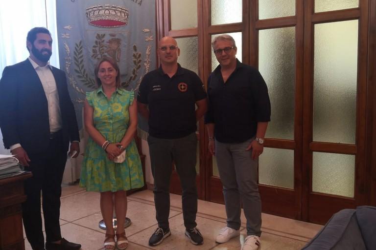 Sindaco Bruno incontra i vertici dei Club Rambo Arcaico e Motori Federiciani