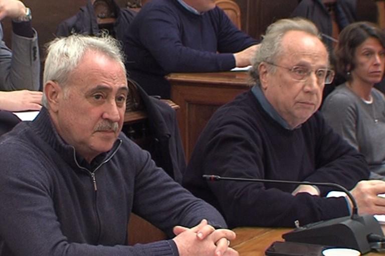 Marcello Fisfola e Nino Marmo