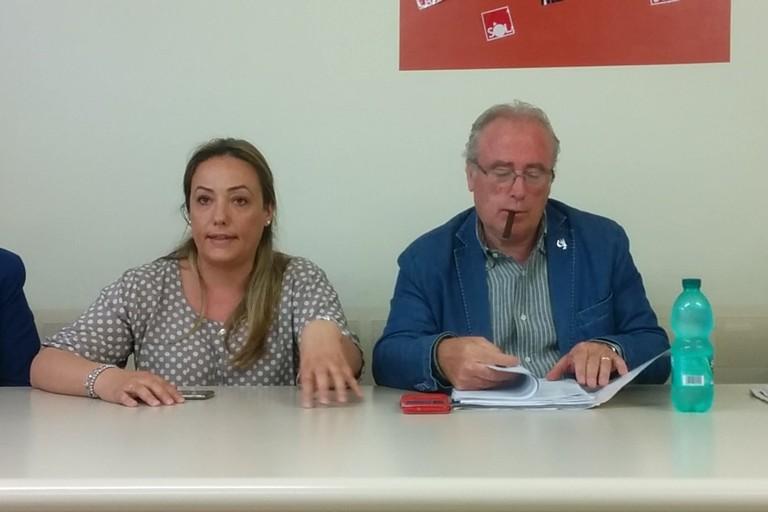 Daniela Fortunato e Giuseppe Deleonardis