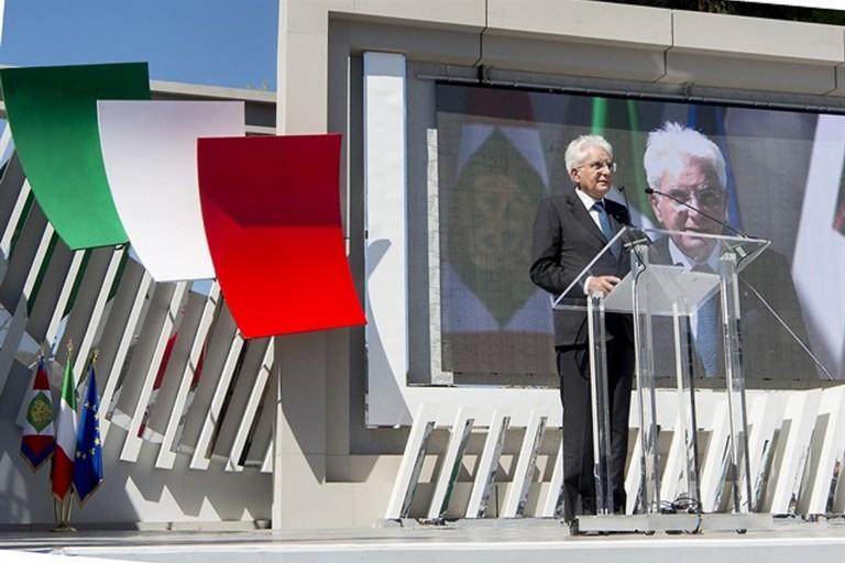 Sen. Sergio Mattarella, Presidente della Repubblica