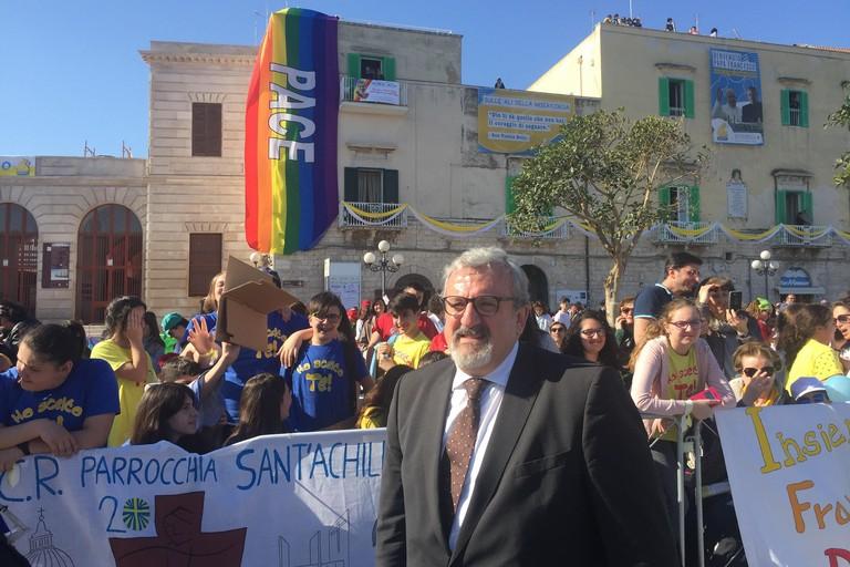 Il messaggio del Presidente Emiliano in occasione della visita di Papa Francesco