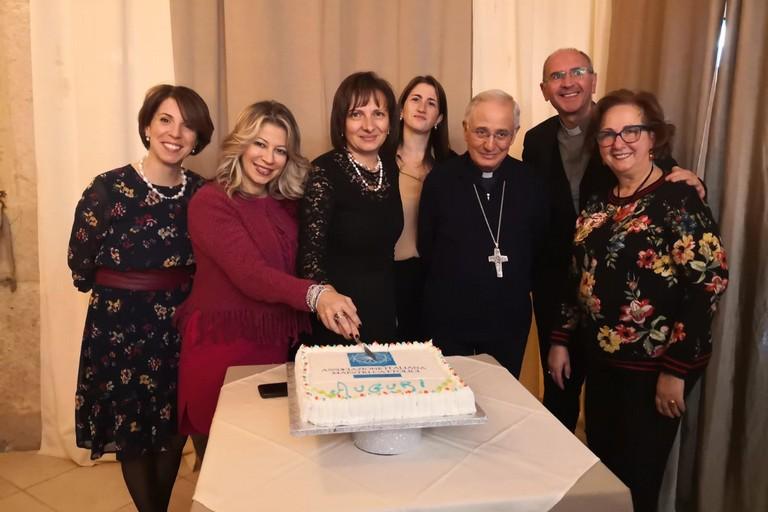 Gli auguri dell'Associazione Nazionale Maestri Cattolici al Vescovo Massaro
