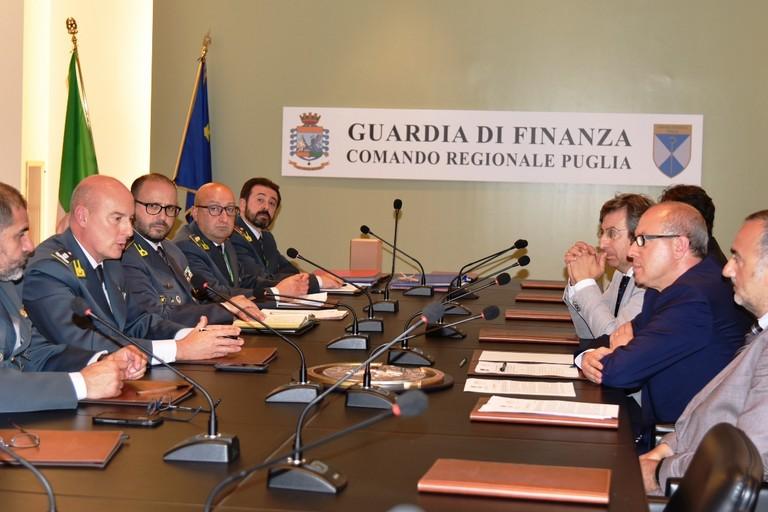 Arpa Puglia e Guardia di Finanza