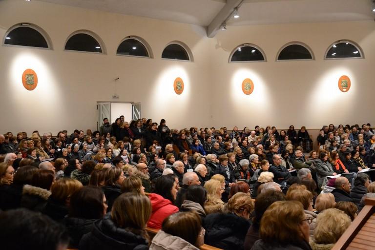riunione presso parrocchia cittadina