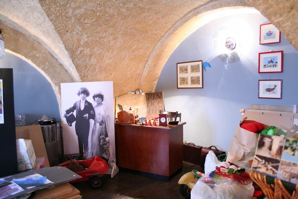 Interno de Museo del giocattolo Laportablv