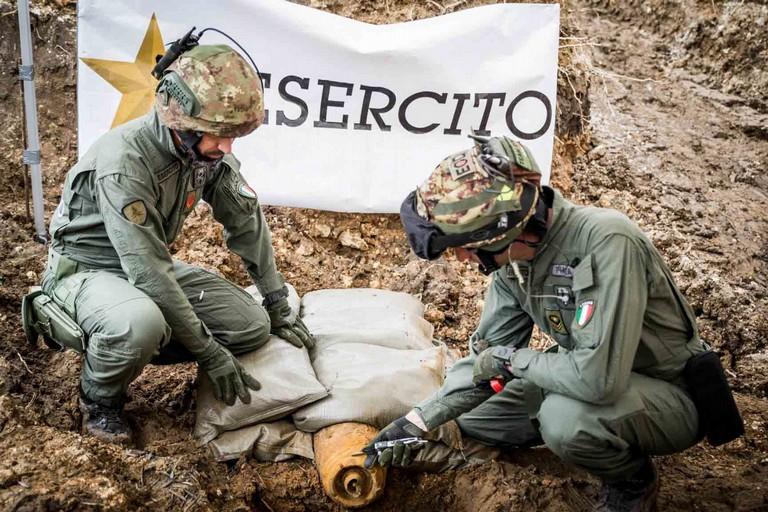 Artificieri dell'Esercito Italiano