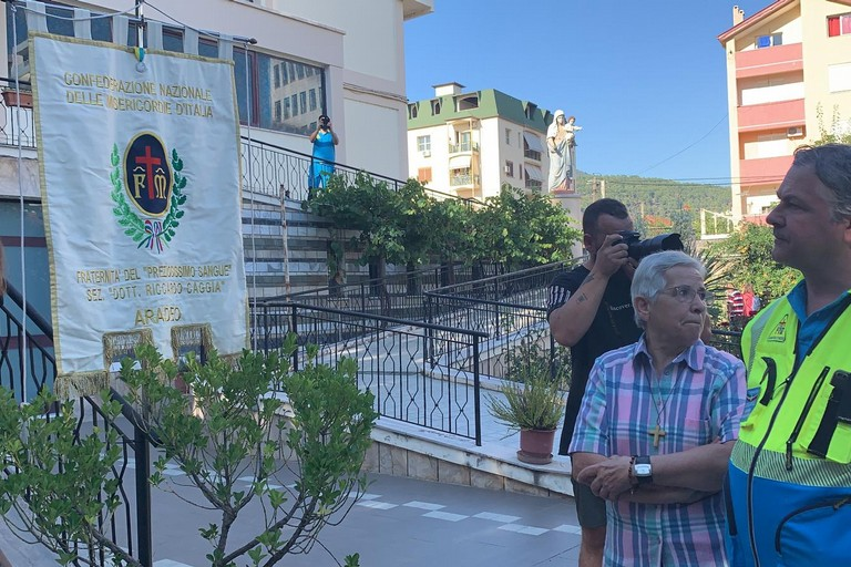Foto inaugurazione Confraternita Albania