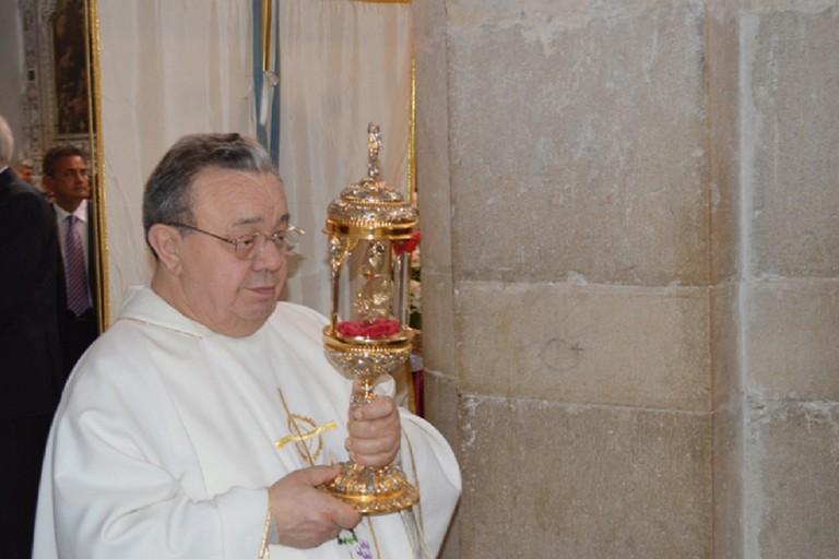 A Vitulano tanti fedeli andriesi per l'ultimo saluto a Padre Mennato Cerulo