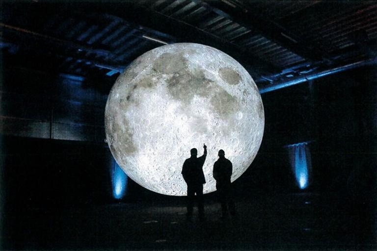 foto Museum of the Moon di Luke Jerram Chiesa di San Domenico dal al settembre ore