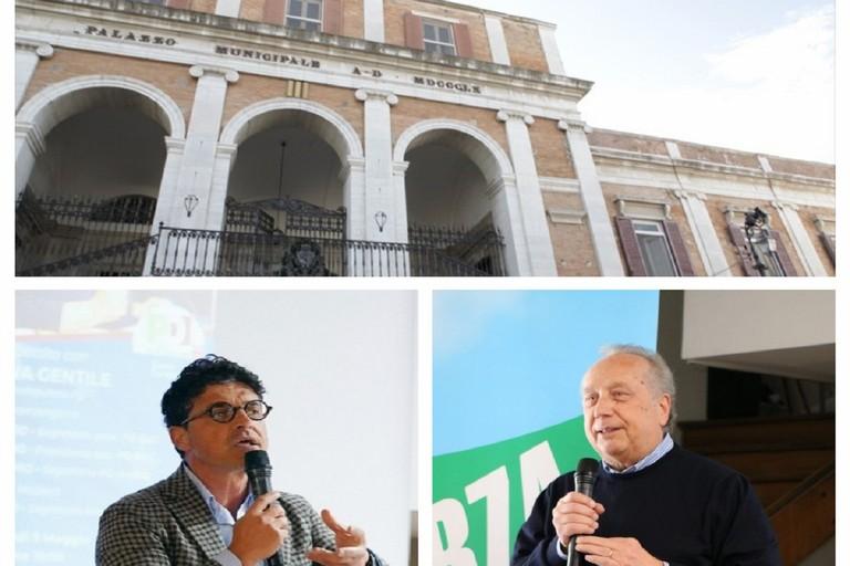 Giovanni Vurchio (sx) e Nino Marmo
