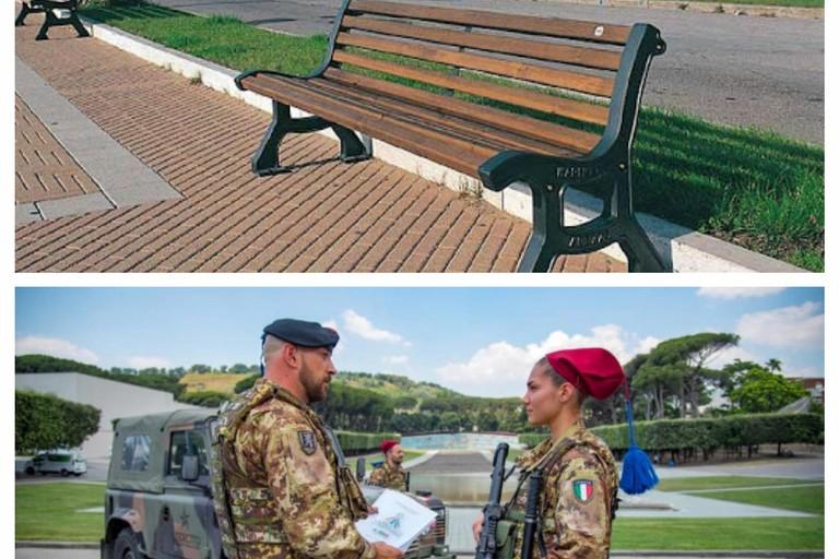 Esercito agli accessi della città e chiusura luoghi pubblici