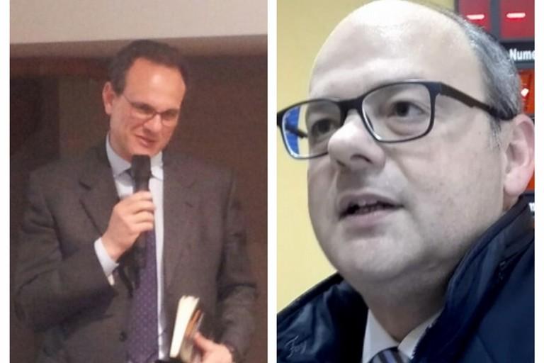 avv. Bertolino (a sx) e avv. Delle Donne