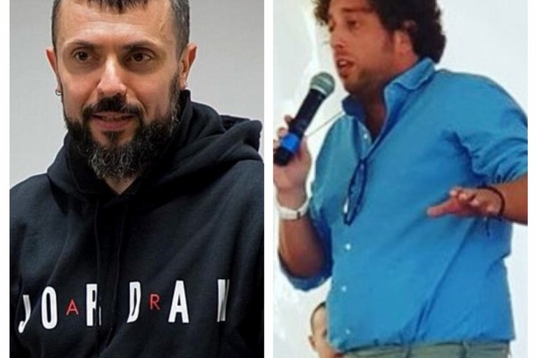 da dx Giuseppe D'Ambrosio e Luigi De Mucci