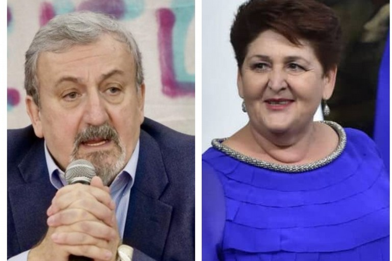 Michele Emiliano ed il ministro Bellanova