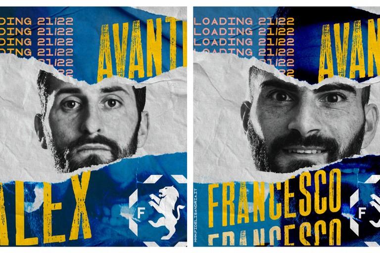 Alex Benvenga e Francesco Fontana