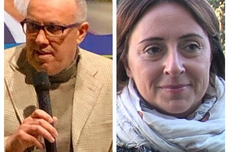 Sabino Zinni e Giovanna Bruno