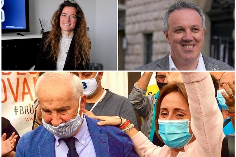 Sen. Assuntela Messina e dott. Sabino Zinni e la neo Sindaca Giovanna Bruno