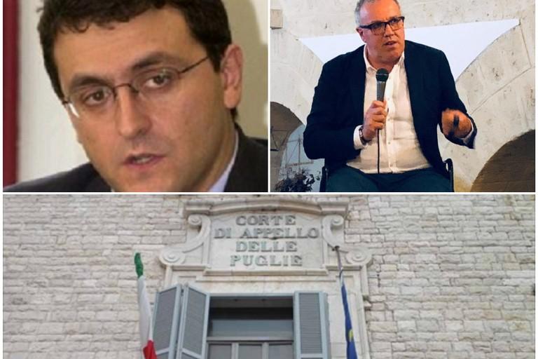 il notaio Sabino Zinni ed il procuratore Renato Nitti