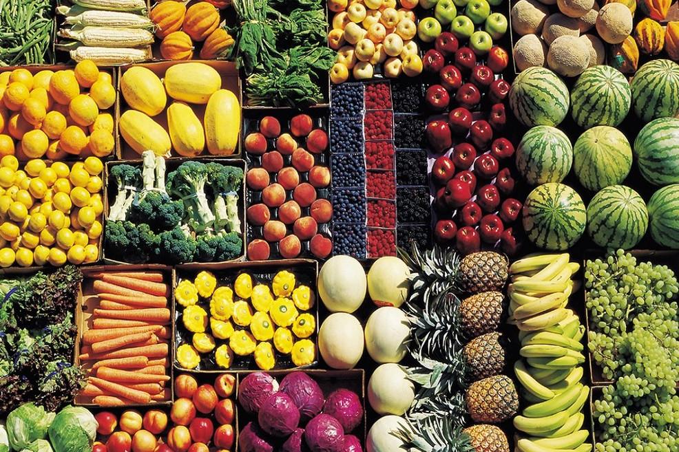 verdura mercato ortofrutticolo