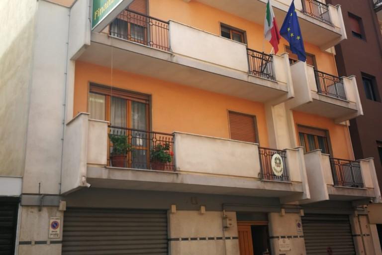 Attuale sede della Gdf di Andria
