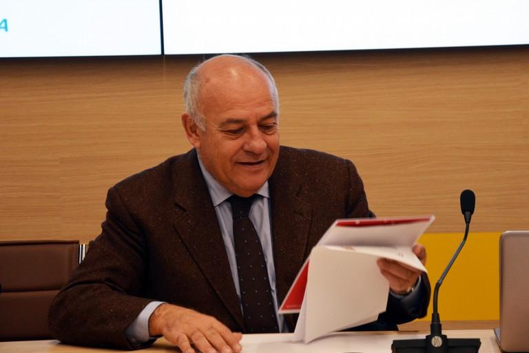 L'assessore ai Trasporti Giovanni Giannini