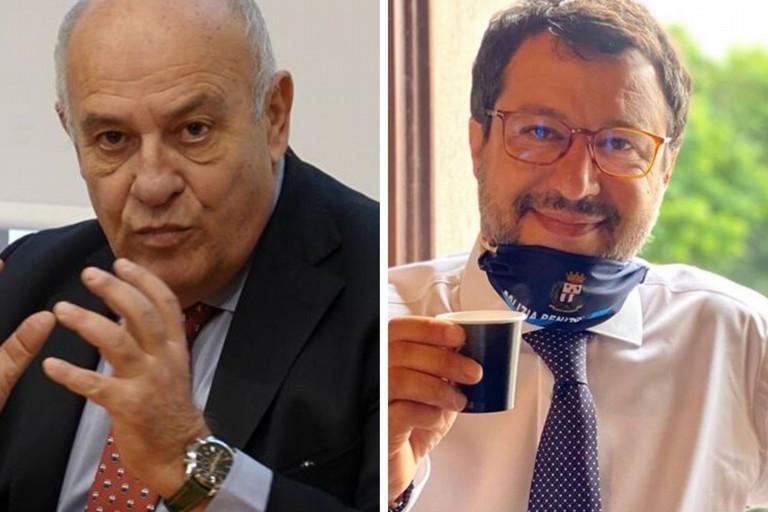 Giannini e Salvini