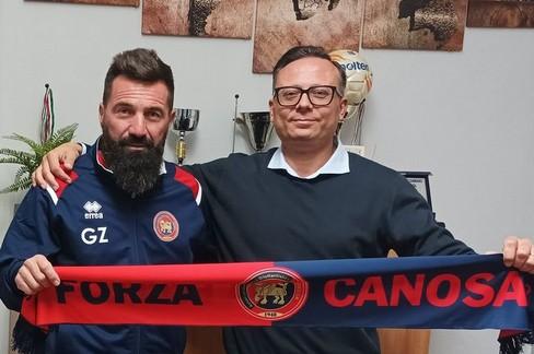 Girolamo Zinfollino Foto dalla pagina facebook del Canosa Calcio