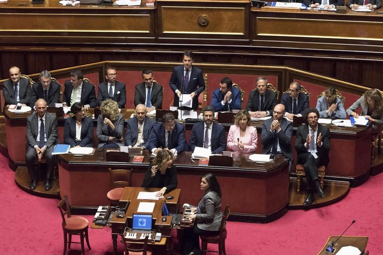 Il Governo guidato dal premier Giuseppe Conte